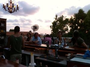 Rooftop bar Cafe Suzanna Neve Tzedek